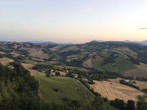 A beautiful view of Le Marche by Issa